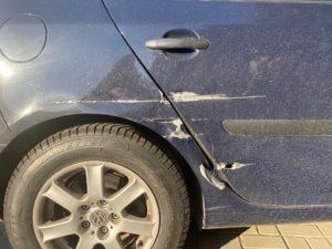VW Golf naprawa blacharsko-lakiernicza